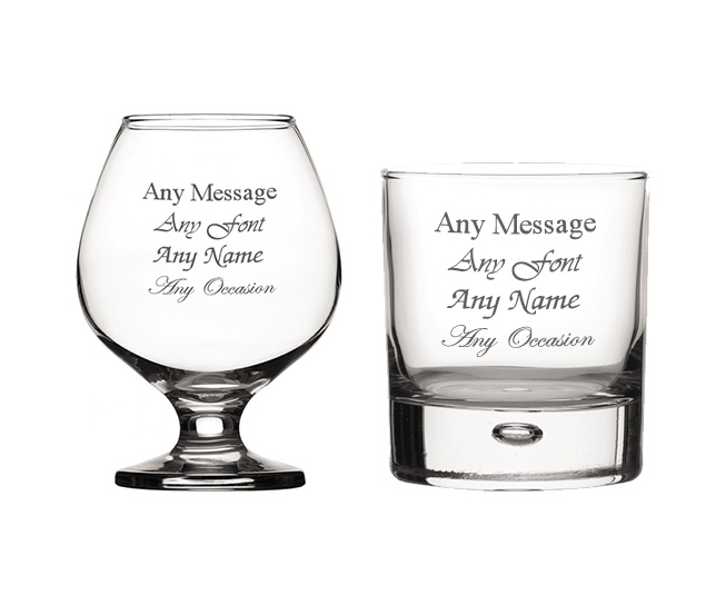 Brandy & Whiskey Glasses