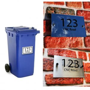 House Numbers and Door Signs